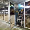 定制焊接防弧光围栏,焊接安全围栏