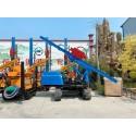 HWYZ-500履带光伏打桩机沙土地层专用桩工机械 光伏电站地基支架桩打桩机