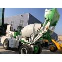现货销售1.2立方混凝土自上料车 全自动混凝土自上料搅拌车
