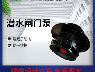 广东湿定子QGWZ全贯流泵厂家价格