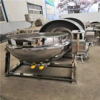 猪耳卤制夹层锅 燃气可倾夹层锅