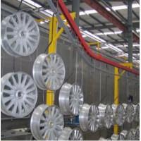 汽车轮毂喷漆线汽车轮毂全自动无尘涂装生产线汽车轮毂喷油喷粉线