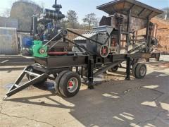咸阳液压开箱制砂机设备 小型细碎石英石移动制砂机应用广泛