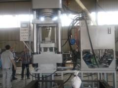 400T自动陶瓷粉末成型液压机Y西安氧化铝粉成型机