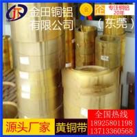 高精度h90黄铜带-c2680超薄黄铜带,h65耐腐蚀黄铜带
