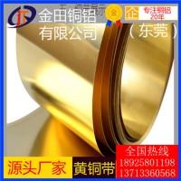 洛阳h68黄铜带*h65可拉伸黄铜带,高纯度h75黄铜带