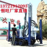 直推环境取样钻机新款履带取土钻探机环境取样钻机全液压双动力头建井机