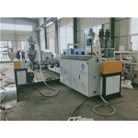 供应青岛SJ120 HDPE大口径中空壁缠绕管生产线