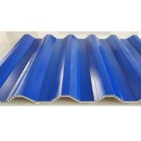 PVC中空树脂波浪瓦设备生产线