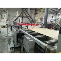PVC木塑发泡墙板设备生产线