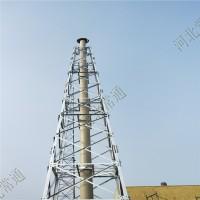 烟筒塔 烟筒塔架 烟囱塔支架 钢烟筒厂家